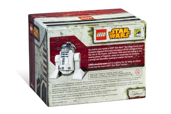 SDCC 2015 : LEGO Star Wars Exclusive Set : Dagobah Mini-Build