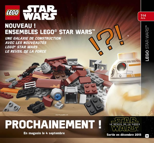 LEGO Star Wars : The Force Awakens 2015 First Look