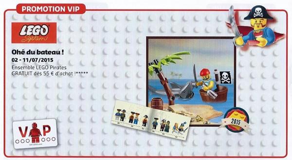 lego pirates vip promotion june 2015