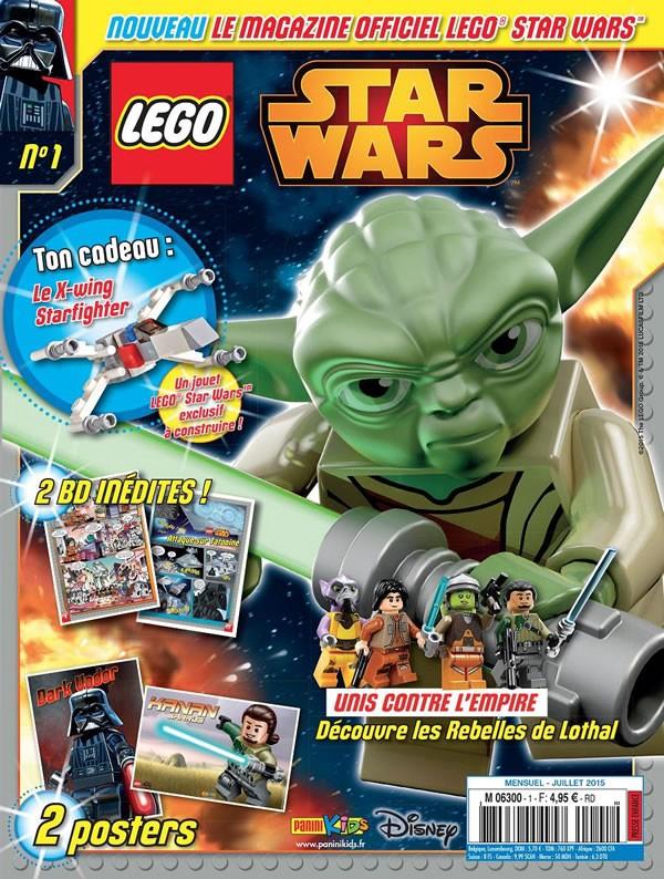 magazine lego star wars en kiosque d s le mois de juillet hoth bricks. Black Bedroom Furniture Sets. Home Design Ideas