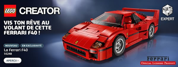 La Ferrari qui te plait bien mais qu'au final tu laisseras prendre la poussière sur une étagère avant de la démonter parce que le sticker est tout décollé