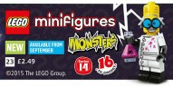71010 Collectible Minifigures Series 14 : Monsters !
