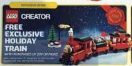 Holiday Set 40138 Christmas Train : Premier visuel