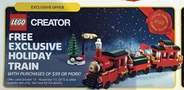 LEGO Holiday Set : 40138 Christmas Train