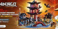 Shopping : Le set 70751 Temple of Airjitzu est disponible pour les VIPs