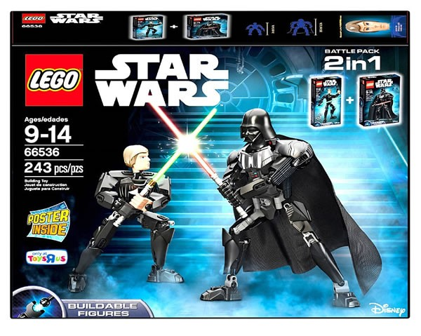 66536 LEGO Star Wars Buildable Figures Battle Pack 2in1