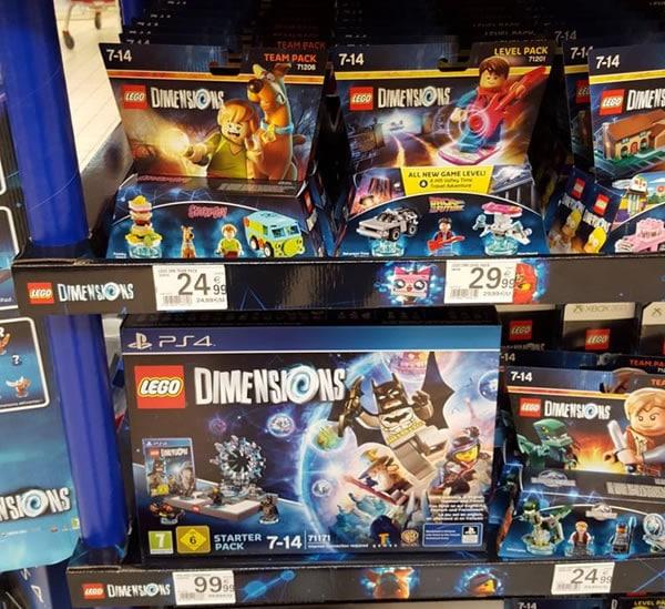 Lego Dimensions D 233 J 224 Dans Les Rayons De Certains