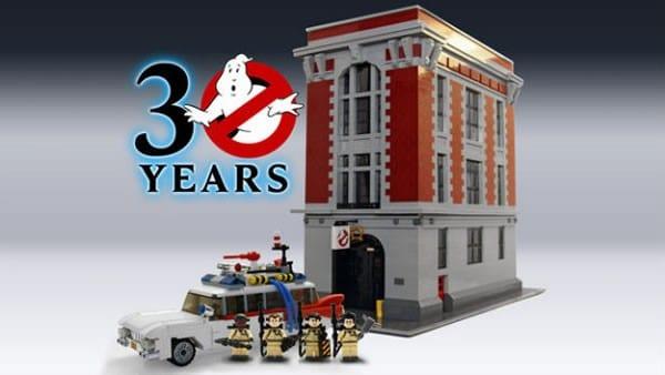 lego ideas ghostbusters headquarters
