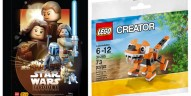 Shop@Home : Poster LEGO Star Wars et polybag Creator offerts