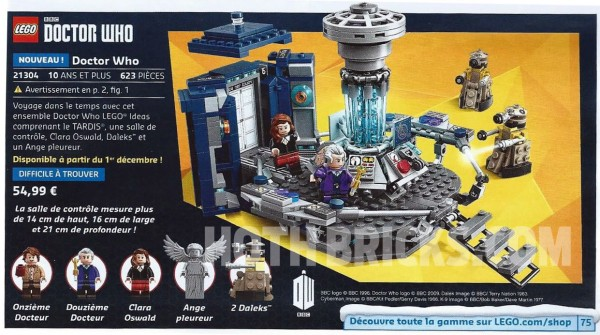 21304 LEGO Ideas Doctor Who