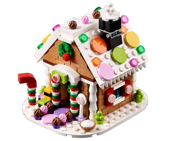 LEGO Holiday Set : 40139 Gingerbread House
