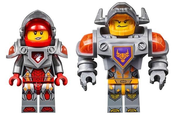 LEGO Nexo Knights : Macy & Axl