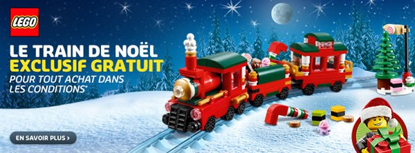 LEGO Holiday Set 2015 1/2 : 40138 Holiday Train