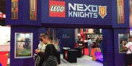 NYCC 2015 : La gamme LEGO Nexo Knights envahit le stand LEGO