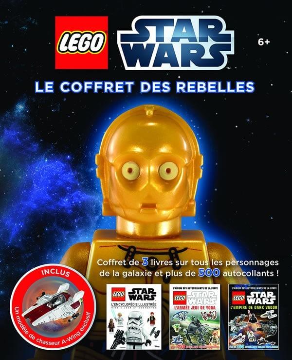 Lego star wars le coffret des rebelles hoth bricks - Serre livre star wars ...