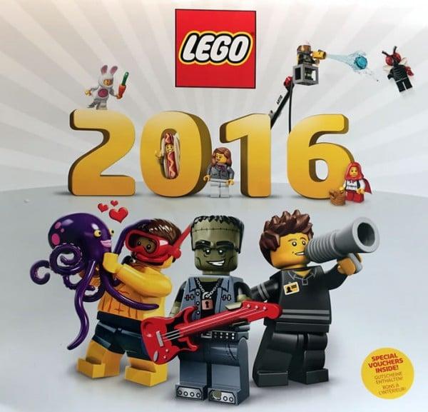 LEGO 2016 Wall Calendar