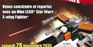 Animation LEGO Star Wars chez Toys R Us reportée