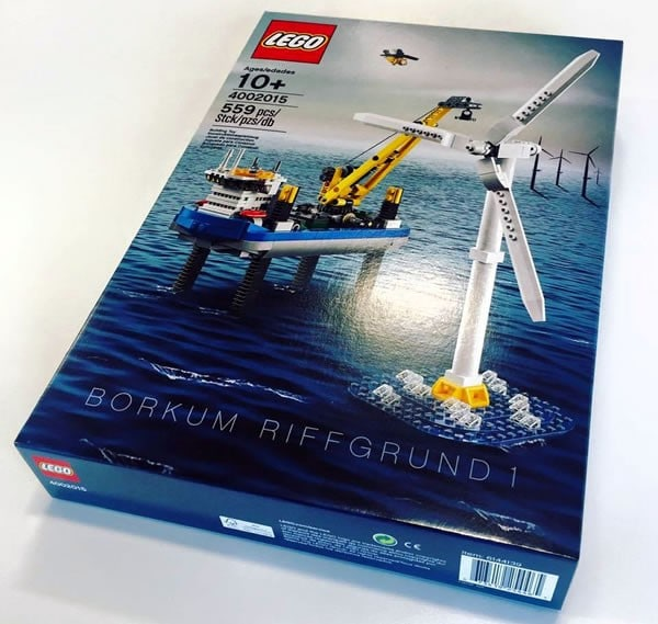 LEGO 4002015 Borkum Riffgrund 1