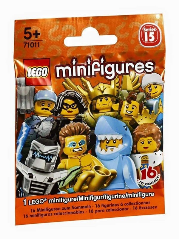 71011 Collectible Minifigures Series 15