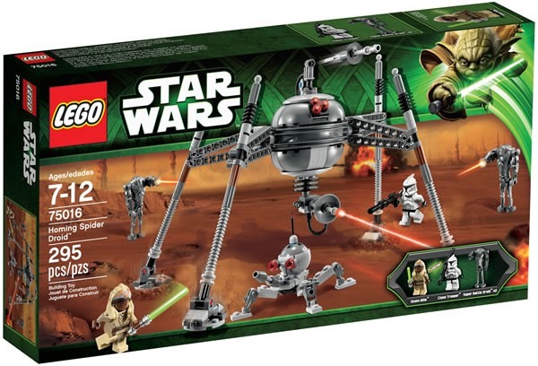 75016 Homing Spider Droid