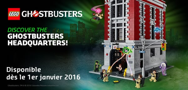 Lego Ghostbusters Firehouse 75827 Instructions