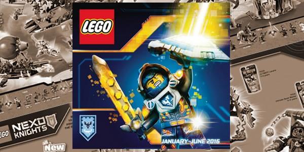 LEGO 1H2016 Officiel Catalogue