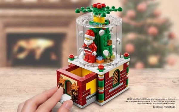 LEGO Seasonal 2016 : 40223 Christmas Ornament
