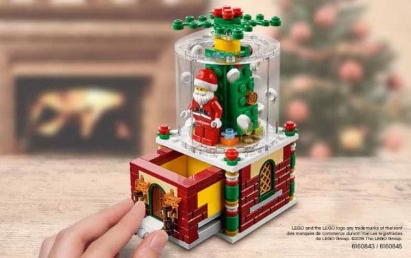 LEGO Seasonal 2016 : 40223 Christmas Ornament