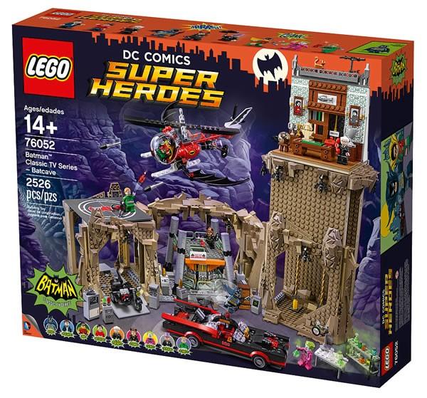76052 Batman Classic TV Series Batcave