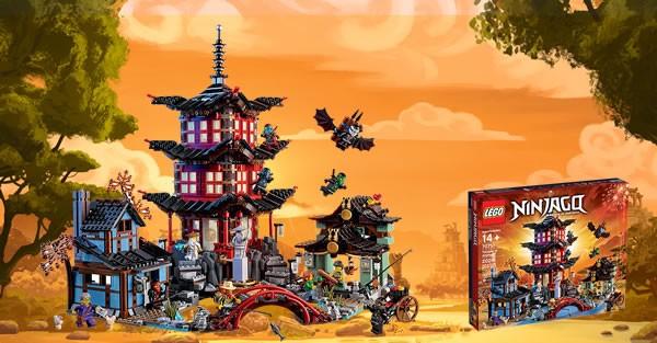 70751 Ninjago Temple
