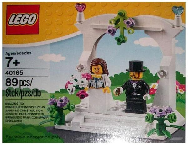 40165 Minifigure Wedding Favour Set