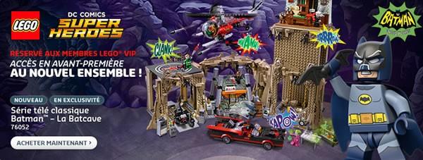 76052 Batman Classic TV Series - Batcave (289.99 €)