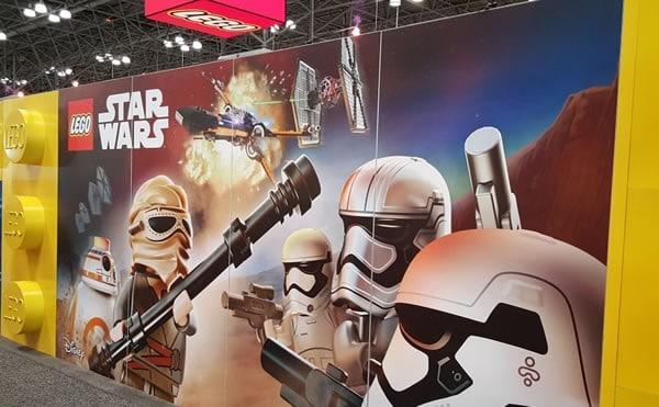 LEGO Booth @ New York Toy Fair 2016