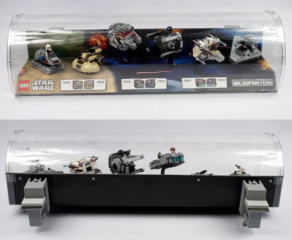 LEGO Star Wars Microfighters Display Case