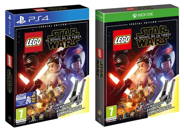 LEGO Star Wars The Force Awakens Video Game Special Edition
