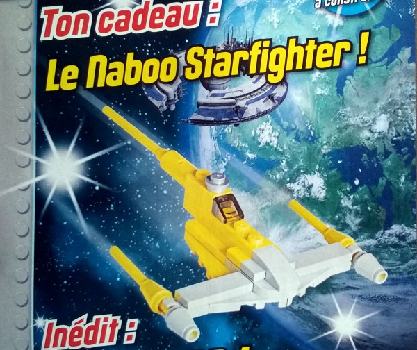 Magazine LEGO Star Wars : Un Naboo Starfighter avec le N°9