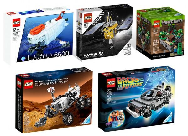 LEGO Cuusoo Sets (2010-2014)