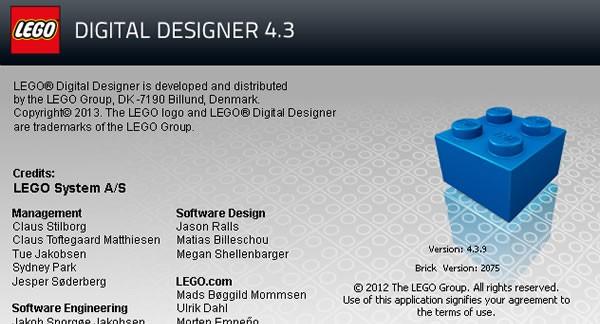 LEGO Digital Designer 4.3.9