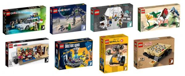 LEGO Ideas Sets (2014-2016)