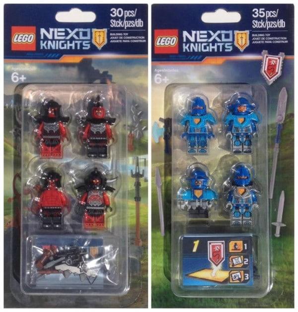 LEGO Nexo Knights Accessory Packs (853515 & 853516)