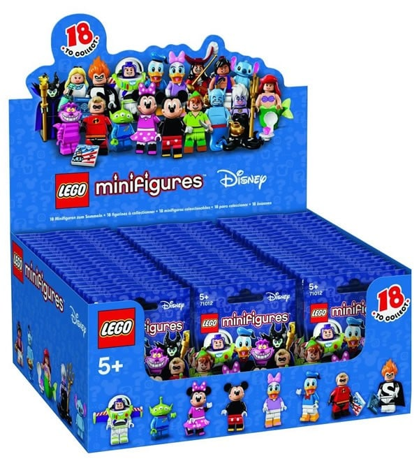 71012 Disney Collectible Minifigures (2016)