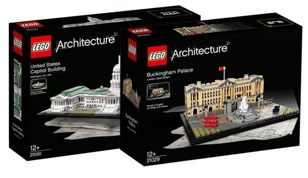 lego architecture buckingham palace et le capitole en 2016 hoth bricks. Black Bedroom Furniture Sets. Home Design Ideas