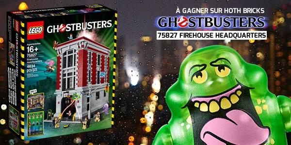 vous de jouer un set ghostbusters 75827 firehouse. Black Bedroom Furniture Sets. Home Design Ideas