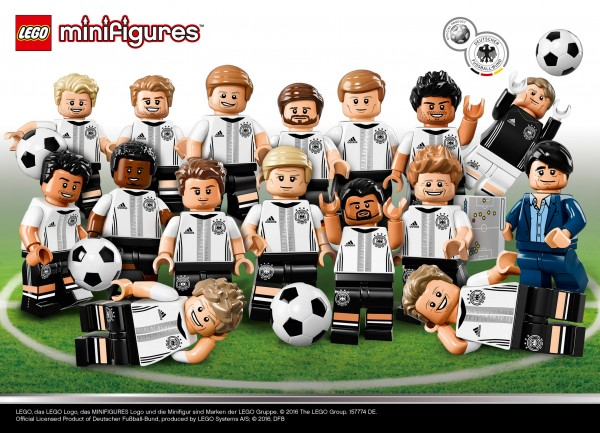 """71014 LEGO Collectible Minifigures Series """"Die Mannschaft"""""""