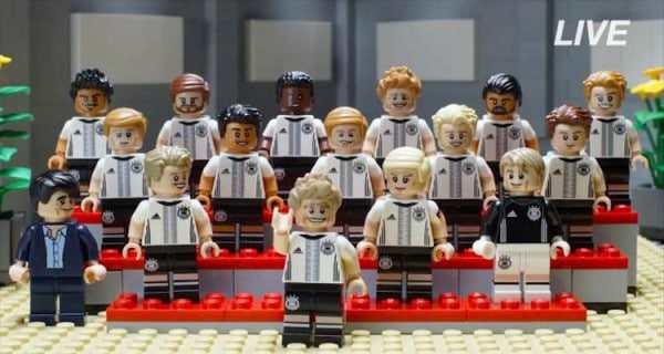"71014 LEGO Collectible Minifigures Series ""Die Mannschaft"""