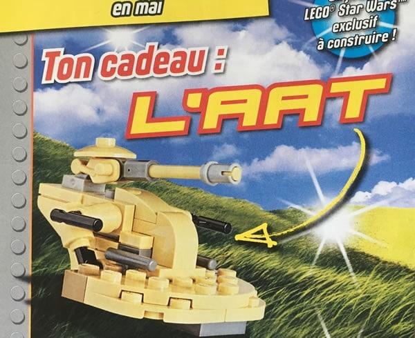 Magazine LEGO Star Wars : Un AAT avec le N°11