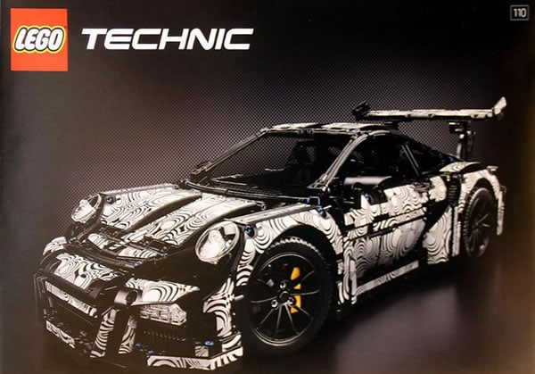 lego technic 42056 porsche 911 gt3 rs un peu de teasing. Black Bedroom Furniture Sets. Home Design Ideas