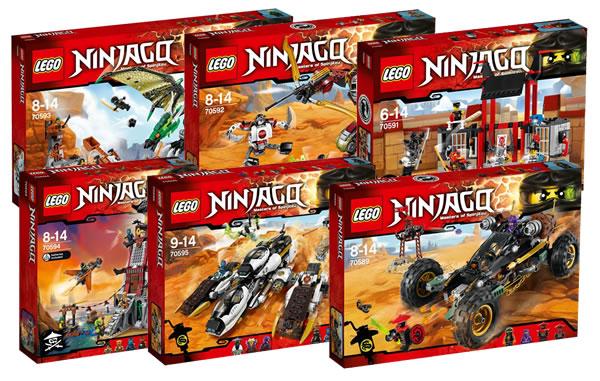 Nouveaut s ninjago du second semestre 2016 quelques - Lego ninjago nouvelle saison ...