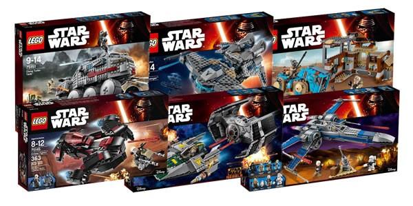 Nouveautés LEGO Star Wars du second semestre 2016