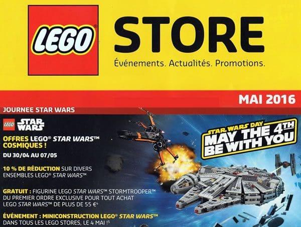 LEGO Store Calendar Mai 2016 (France)